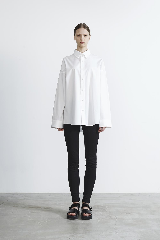 R2017 LOOSE SHIRTS (WHITE)