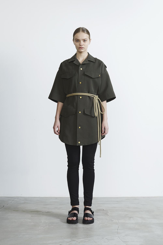 R2017 SAFARI DRESS (KHAKI)