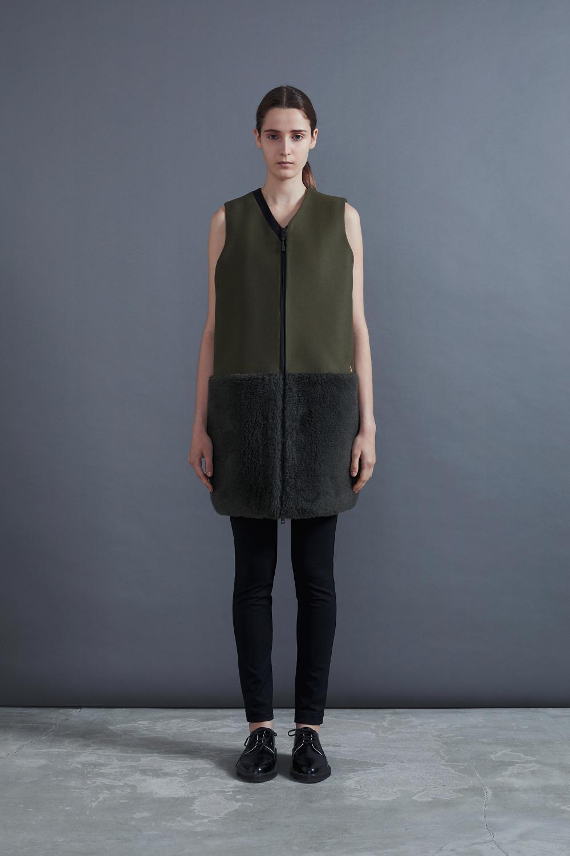RERACS PT DRESS (OLIVE*OLIVE)