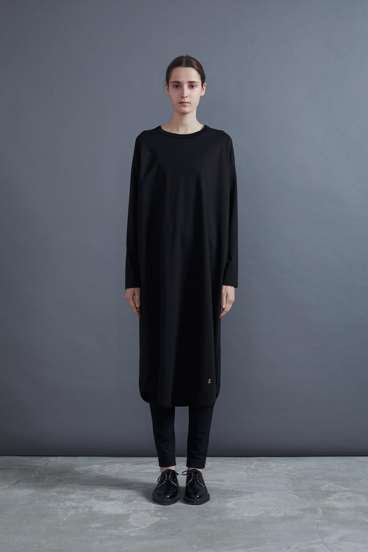 RERACS BASIC LONG DRESS(BLACK)