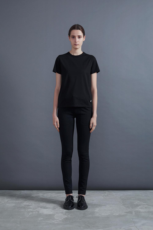 RERACS BASIC T-SHIRTS (BLACK)