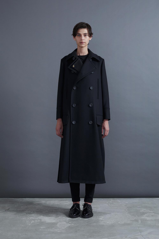 RERACS NEWLY LONG P-COAT(BLACK)