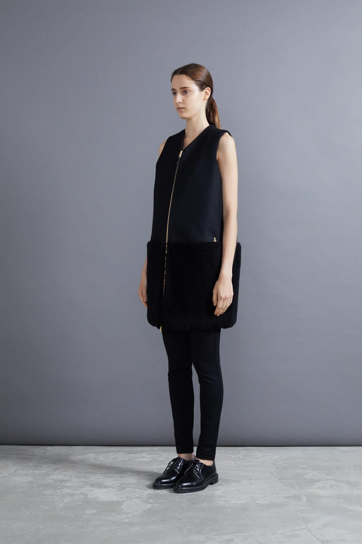 RERACS PT DRESS (BLACK*BLACK)